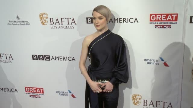 Evan Rachel Wood at 2017 BAFTA Los Angeles Awards Season Tea Party The Four Seasons Los Angeles at Beverly Hills in Los Angeles CA