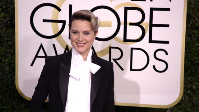 Evan Rachel Wood at 74th Annual Golden Globe Awards Arrivals at 74th Annual Golden Globe Awards Arrivals at The Beverly Hilton Hotel on January 08...