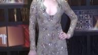 Evan Rachel Wood at the 14th Annual Critics' Choice Awards at Los Angeles CA