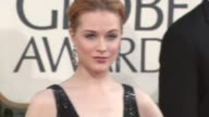 Evan Rachel Wood at the 66th Annual Golden Globe Awards Arrivals Part 6 at Los Angeles CA
