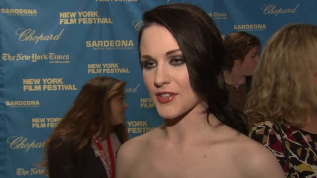 Evan Rachel Wood at the New York Film Festival Closing Night The Wrestler Premiere at New York NY