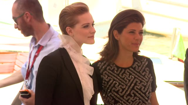 Evan Rachel Wood Marisa Tomei at the The Ides of March Arrivals Venice Film Festival 2011 at Venice