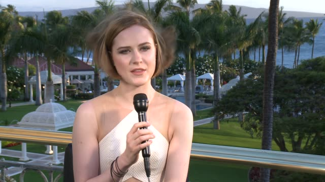 INTERVIEW Evan Rachel Wood on her Nova award being in Maui and on her upcoming projects 2014 Maui Film Festival At Wailea Day 3 on June 06 2014 in...