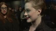 Evan Rachel Wood on if George Clooney would enter politics at the The Ides of March American Express Gala Premiere 55th BFI London Film Festival at...