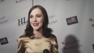 Evan Rachel Wood on presenting an award the importance of honoring behindthescenes professionals and which job she'd like to try at the Behind the...