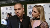 INTERVIEW Evan Ross and Ashlee Simpson on tonight's event on The Art of Elysium on the Heaven gala on his idea of Heaven at The Art of Elysium...