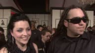 Evanescence Amy Lee at the 50th Annual GRAMMY Awards at Los Angeles California