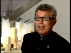 Eve of anniversary of September 11th terrorist attacks Daniel Libeskind interview SOT Silverstein agreed to allow me to have a role in designing the...