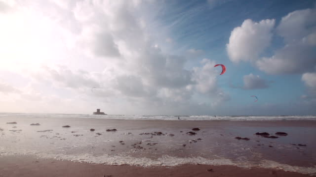 Evening Kite Surf