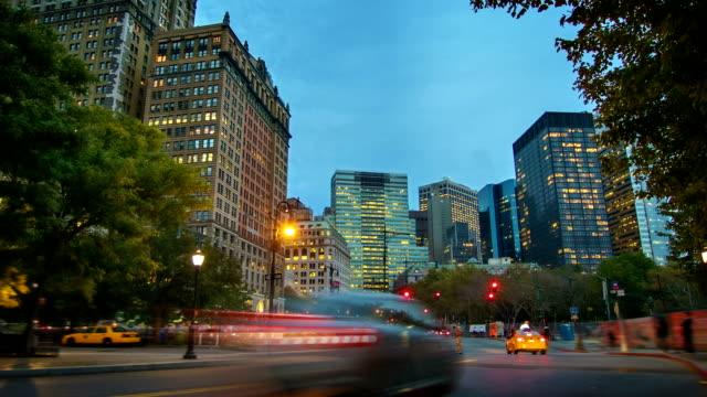 Evening Manhattan