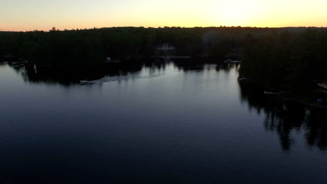 Evening Recreational Boating