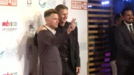 Ewan McGregor Liam Neeson and Alonso AguilarCastillo at the Ewan McGregor Honored At The 4th Annual Los Cabos International Film Festival Closing...