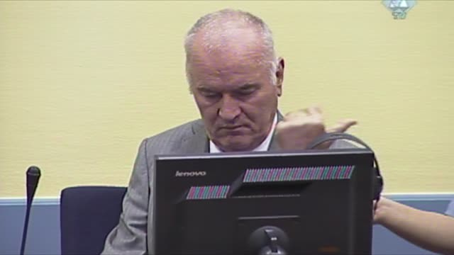 Ex Bosnian Serb military chief Ratko Mladic on Monday refused to enter a plea before a UN war crimes court shortly before a judge ordered his removal...