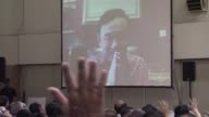 Ex MPs from Thailands toppled government meet for the first time since a 2014 coup for a Skype address by Thaksin Shinawatra the self exiled former...