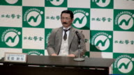 "Exalted writer Natsume Soseki has returned as an android 100 years after his death and is reciting his own work ""Long time no see everyone"" the..."