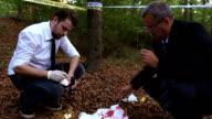 Examining evidence