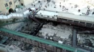 Excavations under the Western Wall Plaza