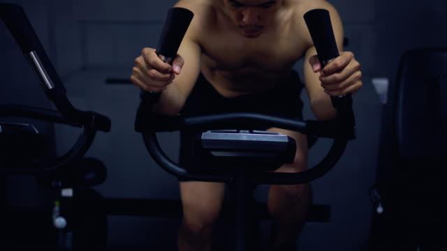 Excercising Gym Fitness Club