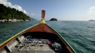 excursion on the long tail boat.