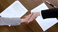CS Executives Shaking Hands