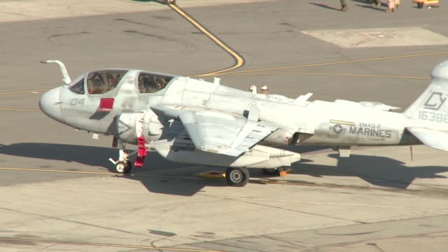 Exercise Northern Edge 2015 Marine aircraft EA6B Prowler