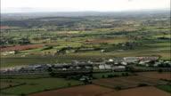 Exeter airport - Aerial View - England, Devon, East Devon District, United Kingdom
