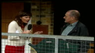 Experts confirm cows have regional accents LIVE Yorkshire EXT Mavis the Cow in farmyard PAN Reporter to camera Paul Wells LIVE interview SOT...