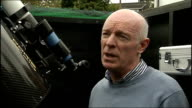 Experts say suspected meteor shower was probably 'space junk' NORTHERN Dr Andy McCrea interview SOT