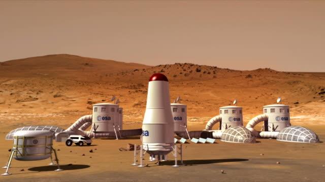 Exploratory base on Mars