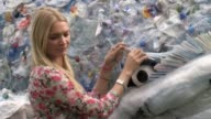 Explorer Sir Ranulph Fiennes and model Jodie Kidd unveil a 10m plastic whale on London's Southbank in a bid to raise awareness of ocean health Sir...
