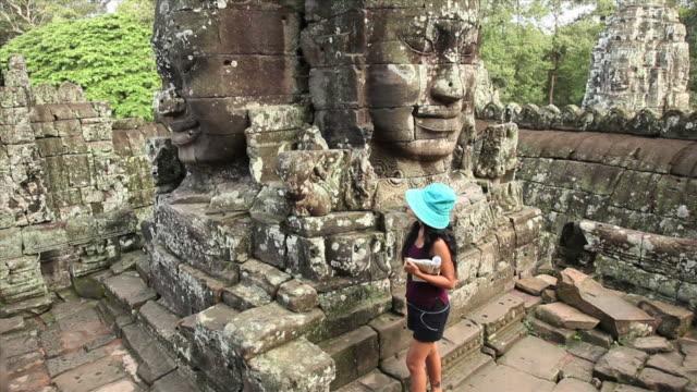 Exploring the Bayon Temple