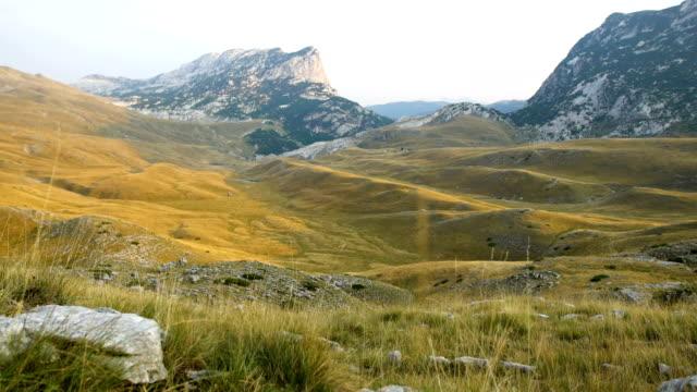 Exploring wilderness. Mountain landscape
