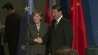 Export giants Germany and China pledged to deepen their strategic ties Friday during a landmark visit by Chinese President Xi Jinping to Berlin which...