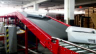 express delivery sorting assembly line
