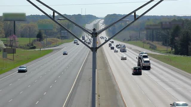 Express highway traffic in Atlanta area