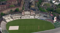 Exterior aerial shots showing The Kia Oval cricket ground on April 29 2014 in London England