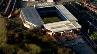 Exterior aerial shots Villa Park Stadium home of Aston Villa Football Club who play in the Sky Bet EFL Championship on February 10 2016 in Birmingham...