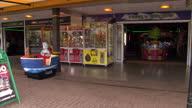 exterior Amusement Arcade by British Seaside on April 04 2014 in Dawlish Devon United Kingdom