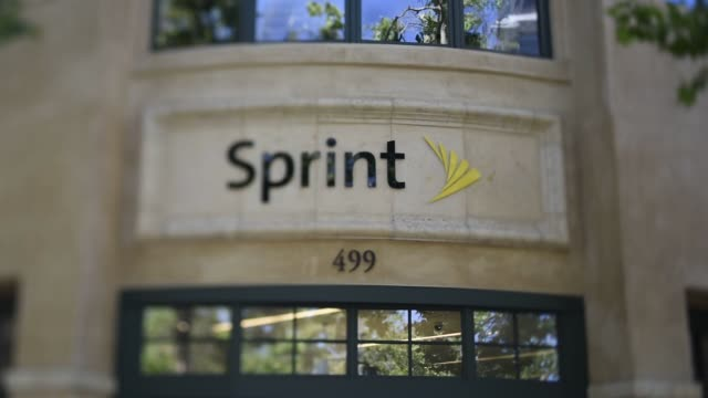 Exterior and signage shots of a Sprint Corp store in Palo Alto California US on Friday May 1 2015 Sprint Corp Shots Close up shots of Sprint signage...