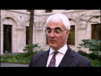 exterior interview Alistair Darling MP Chancellor Alistair Darling has rejected criticism from Europe over the UK's deficit A report by the European...