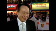 Exterior interview Ang Lee director on red carpet at the BAFTA Awards talking about his BAFTA nomination for Crouching Tiger Hidden Dragon on...