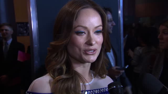 Exterior interview with actress Olivia Wilde 'for some a very desperate difficult process'