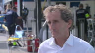 Exterior Interview with Alan Prost Former F1 World Champion on September 13 2014 in Beijing China