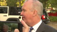Exterior interview with Tampa mayor Bob Buckthorn on his support for Hillary Clinton on November 08 2016 in Tampa FL