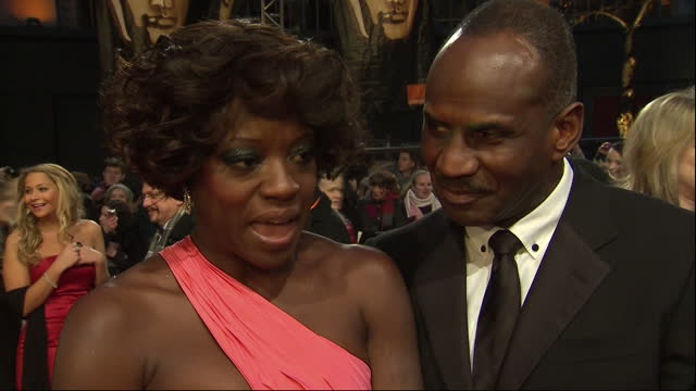Exterior night shot Viola Davis on why she thinks the film The Help has been so successful Viola Davis Speaks on the BAFTA red carpet on February 12...