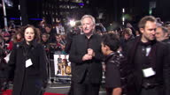 Exterior night shots Alan Rickman poses for photographers on the red carpet at the Gambit premiere Alan Rickman on the Red Carpet on November 08 2012...
