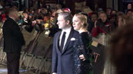 Exterior night shots Martin Freeman Amanda Abbington poses on the red carpet at The Hobbit An Unexpected Journey premiere Martin Freeman Amanda...