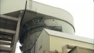 MS LA Exterior of building at Huaneng Yuhuan ultra supercritical power plant, Yuhuan County, Zhejiang, China