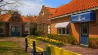 Exterior of Dutch Village buildings