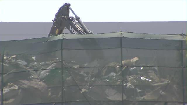 KTLA Exterior Of Garbage Dump In Huntington Beach on April 21 2015